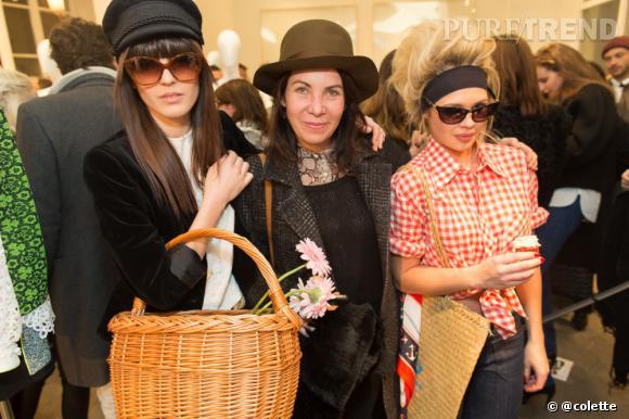 Vanessa Bellugeon, rédactrice en chef mode de L'Officiel à la soirée du 22 janvier 2013 chez colette.