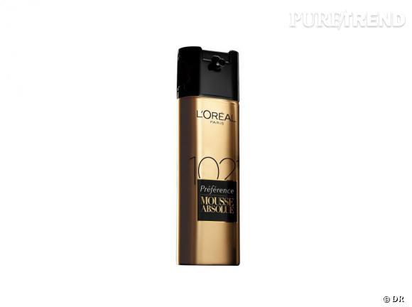 Mousse Absolue, la première coloration automatique par L'Oréal Paris.