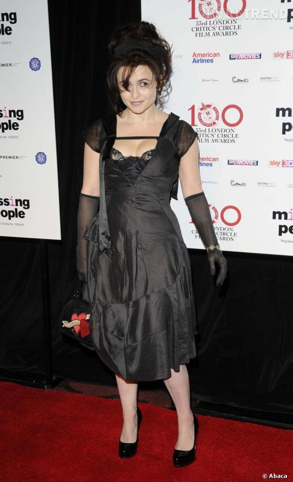 Helena Bonham Carter ou l'art du mauvais recyclage.