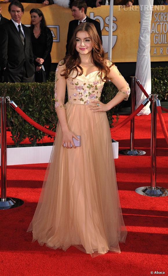 Ariel Winter aux SAG Awards 2013 porte une robe Alex Perry.