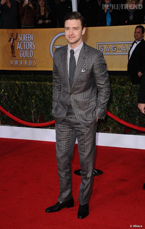 Justin Timberlake aux SAG Awards.