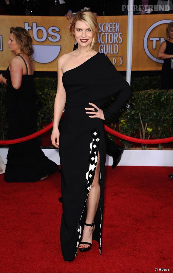 Claire Danes aux SAG Awards porte une robe Givenchy.