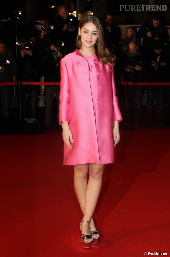 Marie-Ange Casta lors des NRJ Music Awards 2013 à Cannes.