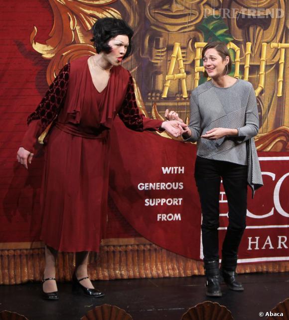 Marion Cotillard élue femme de l'année par Harvard.