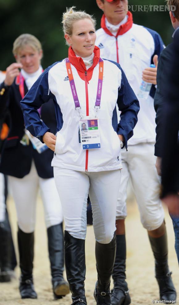 Zara Phillips, championne d'équitation et petite fille de Queen Elizabeth II.