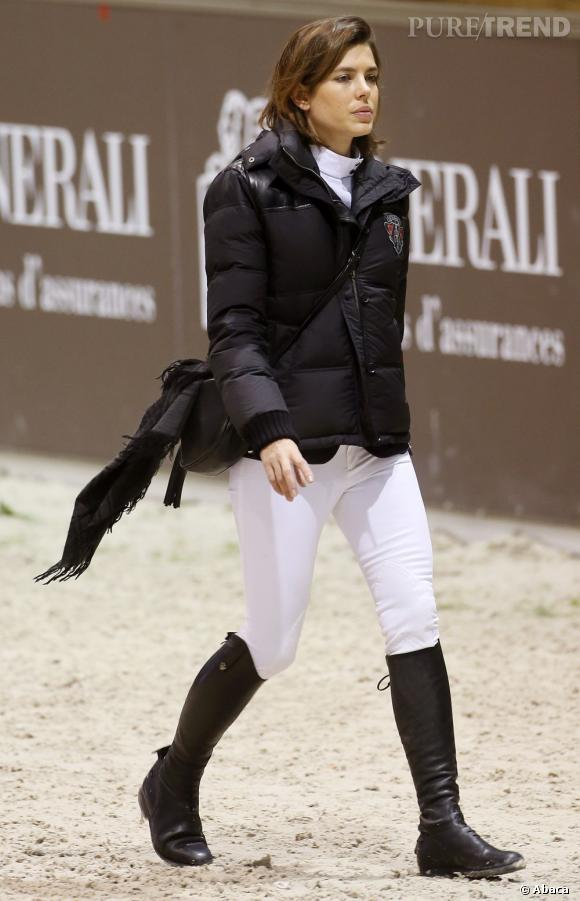 Charlotte Casiraghi au Jumping International de Bordeaux cette semaine.