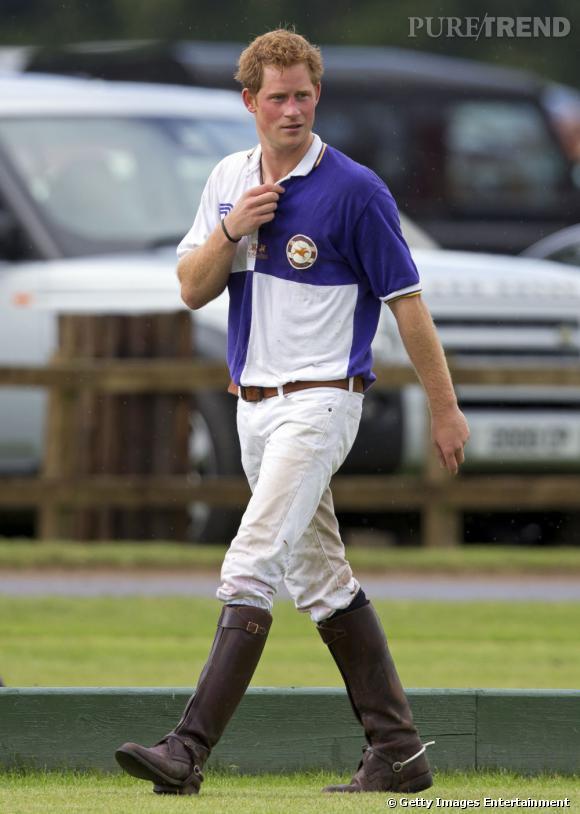 Prince Harry est un joueur de polo.