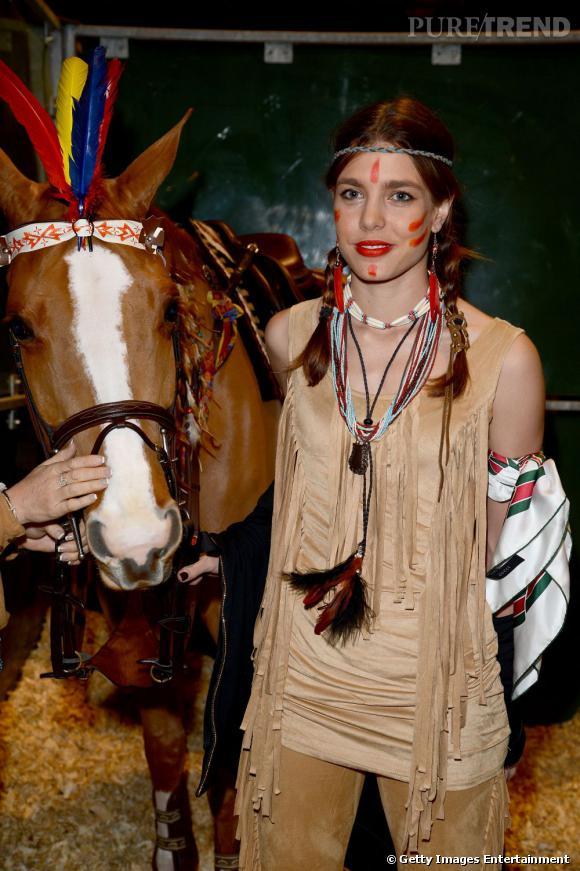 Charlotte Casiraghi aux Gucci Masters 2012.