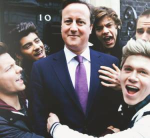 Harry Styles et les One Direction s'offrent David Cameron pour ''One Way or Another''