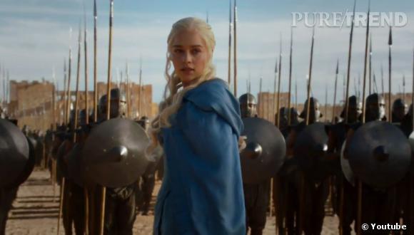 """Dans la saison 3 de """"Game of Thrones"""", il semblerait que Daenerys monte sa propre armée."""