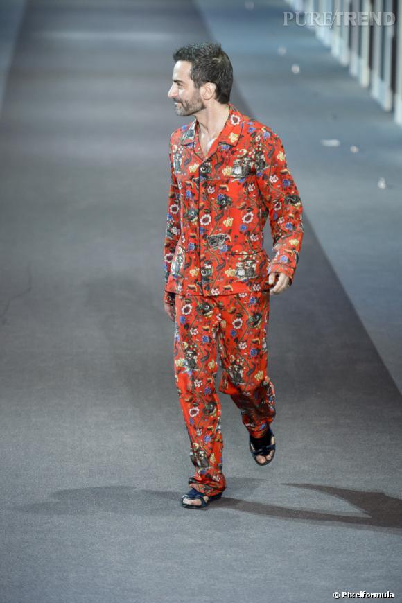 Marc Jacobs au défilé Louis Vuitton Automne-Hiver 2013/2014.