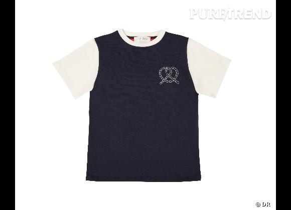 Must have : la collection Petit Bateau x Maison Kitsuné    T-shirt Enfant, 35 €