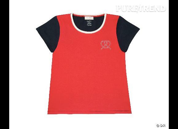 Must have : la collection Petit Bateau x Maison Kitsuné    T-Shirt Femme, 45 €