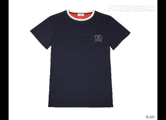 Must have : la collection Petit Bateau x Maison Kitsuné    T-shirt Homme, 45 €