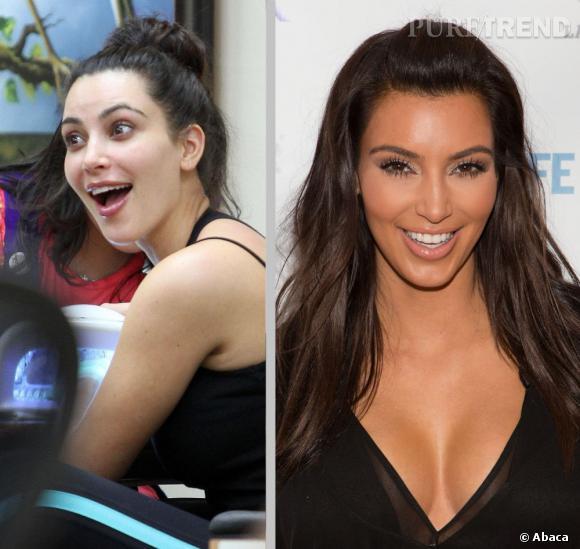 Combien de temps Kim Kardashian a-t-elle attendu avant de se montrer sans make-up devant Kanye West, à votre avis ? Nous, on parie qu'elle attend encore un peu.