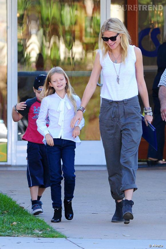 Gwyneth Paltrow : ses enfants aussi sont au régime.