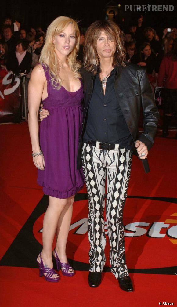Steven Tyler et Erin Brady, combien d'années d'écart ? 25 ans.