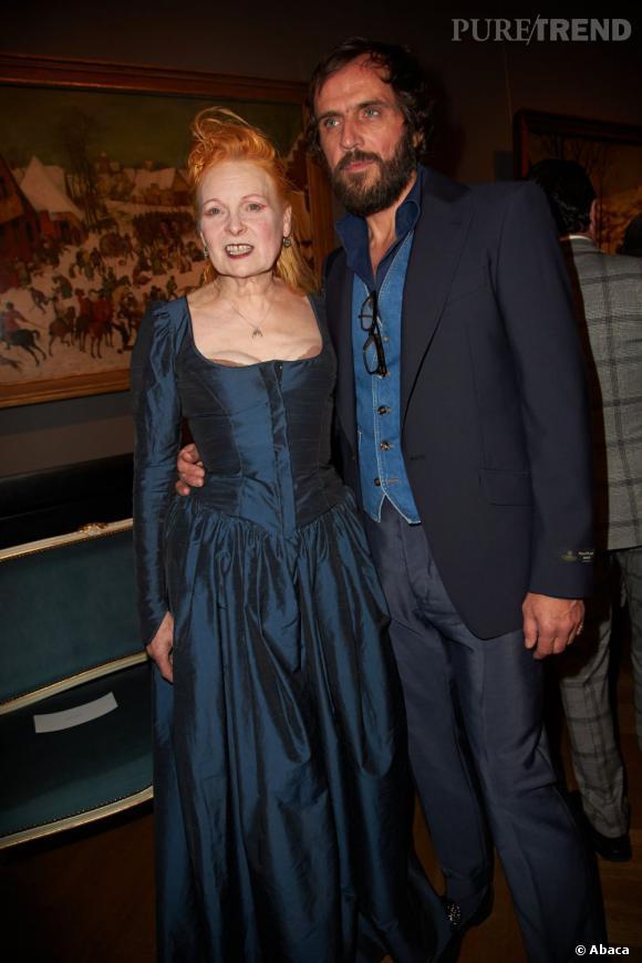 Vivienne Westwood et Andreas Kronthaler, combien d'années d'écart ? 25 ans.