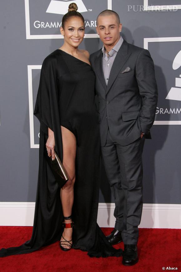 Jennifer Lopez et Casper, combien d'années d'écart ? 18 ans.