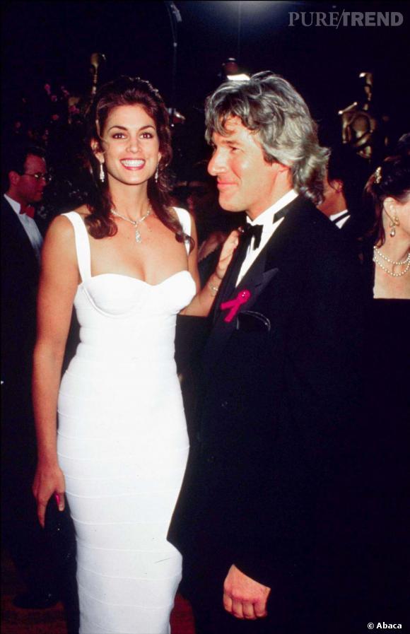 Richard Gere et Cindy Crawford, combien d'années d'écart ? 17 ans.