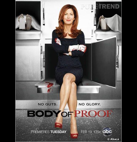 """Dans """"Body of Proof"""", Dana Delany joue Megan Hunt, une médecin légiste très curieuse..."""