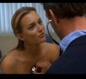"Leighton Meester dans ""Dr. House""."