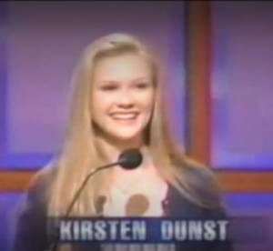 Kirsten Dunst et Joseph Gordon-Levitt en 1997 : amusants perdants de Jeopardy !