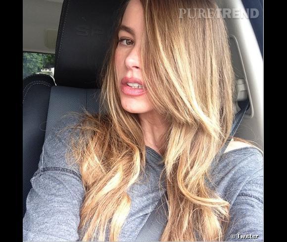 Sofia Vergara passe au blond !