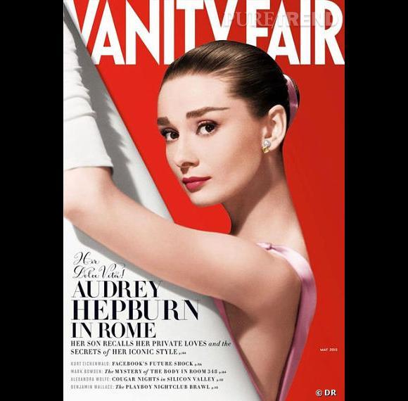 Audrey Hepburn en couverture du magazine Vanity Fair de mai.