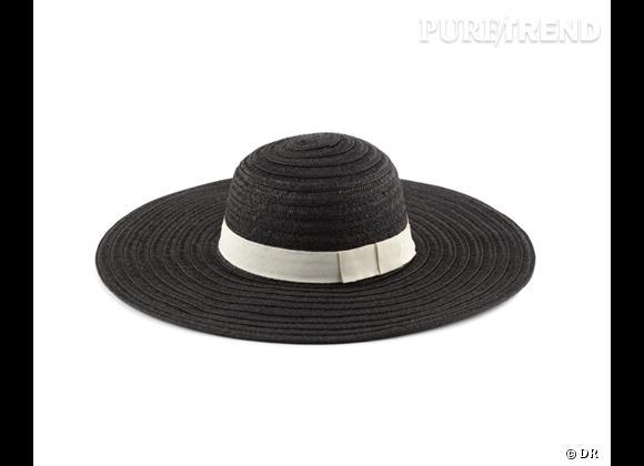 Tendance shopping graphique noir et blanc : le bon shopping      Chapeau Aldo