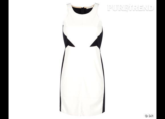 Tendance shopping graphique noir et blanc : le bon shopping      Robe Zara, 49,95 €