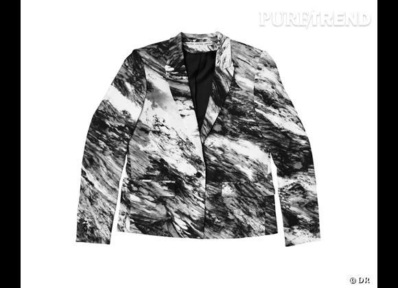 Tendance shopping graphique noir et blanc : le bon shopping      Blazer & Other Stories, 145 €