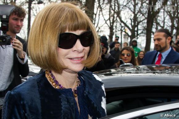 Anna Wintour, directrice artistique des publications Condé Nast et éditrice en chef de Vogue, fait partie des personnalités les plus influentes du monde des médias selon The Hollywood Reporter.