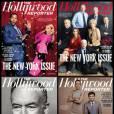 "The Hollywood Reporter propose quatre versions différentes de son numéro ""The New York Issue""."