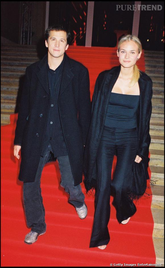 Diane Kruger en 2000 : la simplicité et le naturel priment.