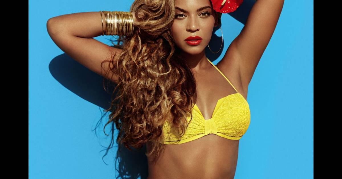2cde13ddc1 Beyonce : bikini sexy et pose lascive pour la campagne d'ete H-M - Puretrend