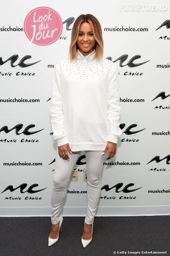 Ciara était invitée à l'émission Music Choice, le 22 avril 2013, à New York.