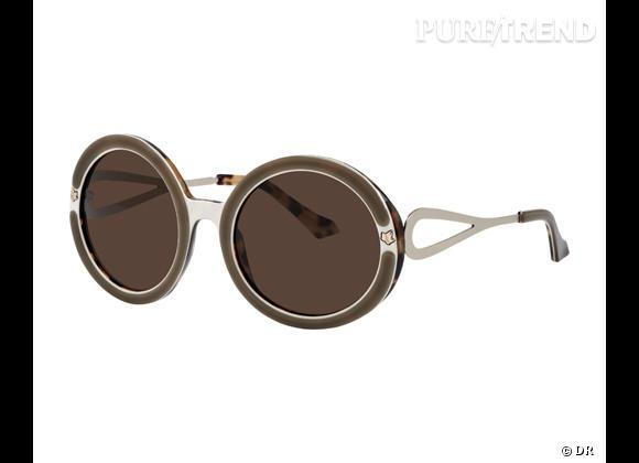 Zoom : Nostalgia, la première collection de lunettes signée Lolita Lempicka    Lunettes de soleil 60s, modèle Serissa, 215 €