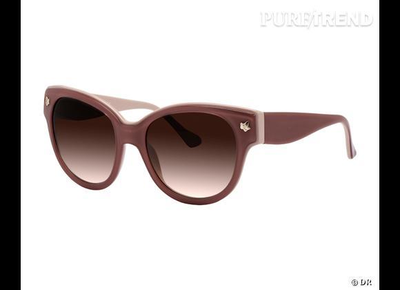 Zoom : Nostalgia, la première collection de lunettes signée Lolita Lempicka    Lunettes de soleil 70s, modèle Violette, 192 €