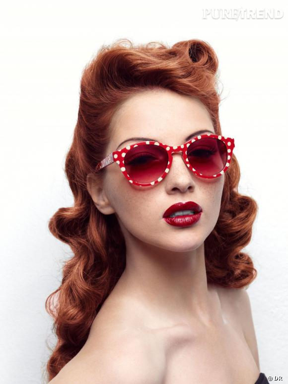 Zoom : Nostalgia, la première collection de lunettes signée Lolita Lempicka Lunettes de soleil 40s
