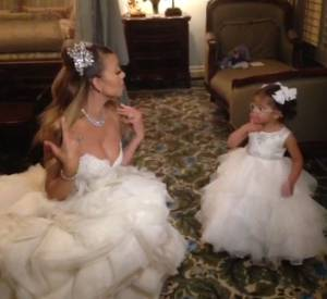 Mariah Carey a elle-même posté quelques vidéos sur son compte Vine.