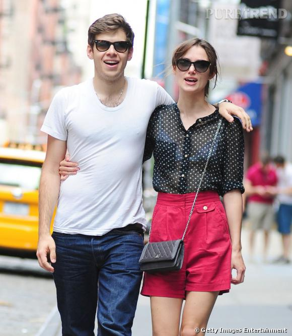Félicitations pour l'heureux couple que forme Keira Knightley et James Righton.