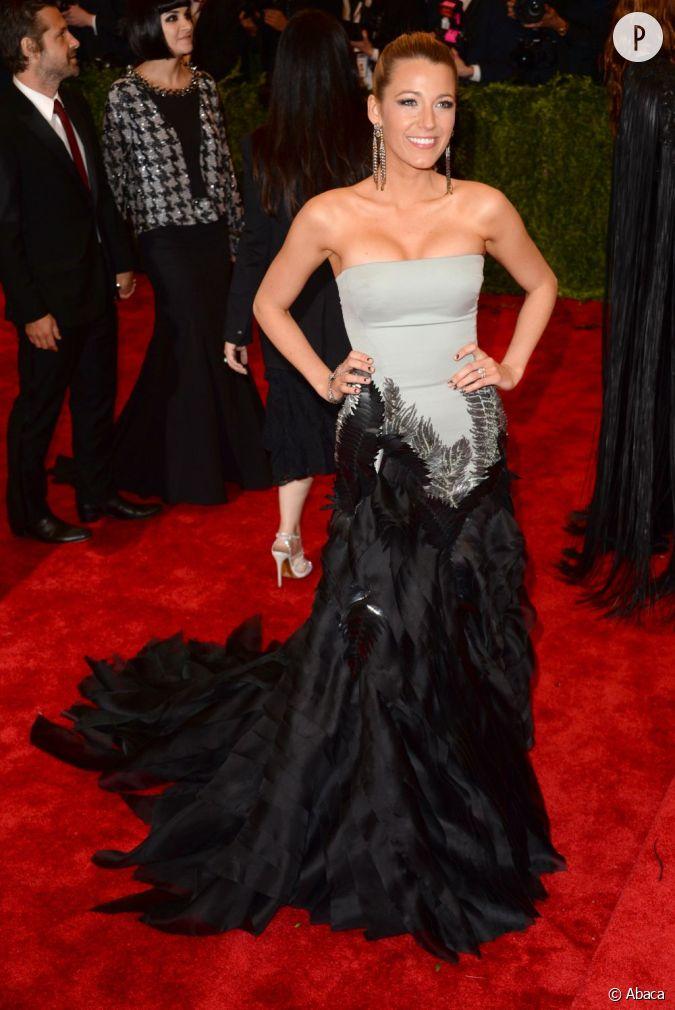 Blake Lively au Met Ball 2013 : des bijoux Lorraine ...