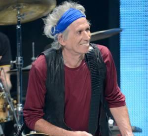 Hedi Slimane pour Saint Laurent habille Keith Richard pour la tournee des Rolling Stones