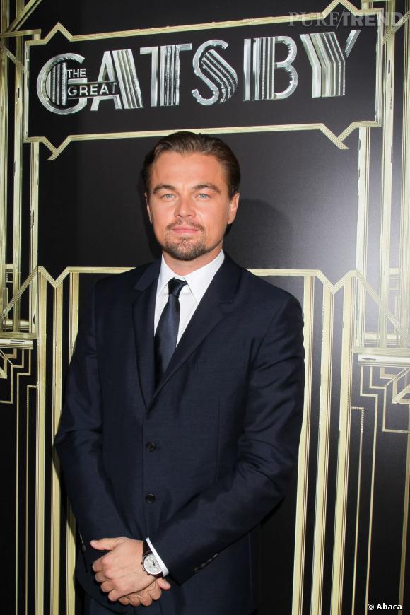 Leonardi DiCaprio est attendu pour son rôle de Gatsby Le Magnifique.