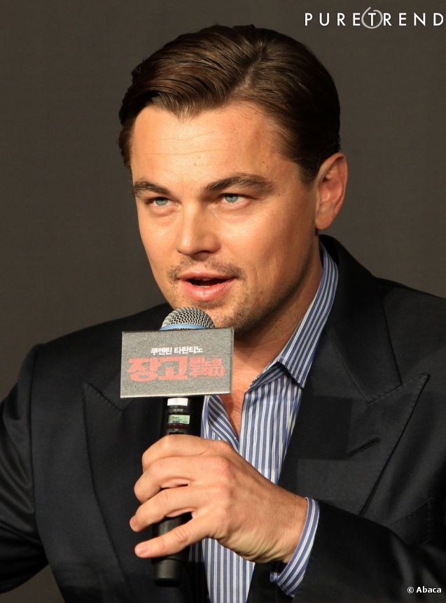 Leonardi DiCaprio a remporté 35 millions de dollars pour sa fondation pour la préservation de l'environnement et des espèces en voie de disparition, le 13 mai 2013, à la maison Christie's.