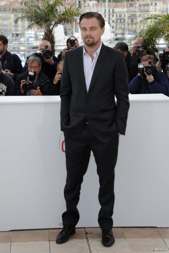 "Leonardo DiCaprio au photocall de ""Gatsby le Magnifique"", au 66ème Festival de Cannes."