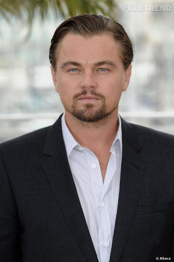 """Leonardo DiCaprio, particulièrement élégant au photocall de """"Gatsby le Magnifique""""."""