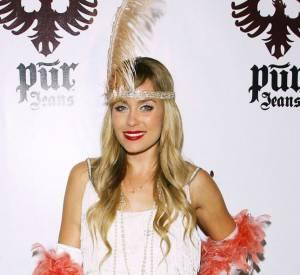 Lauren Conrad aussi était déguisée façon années 20 pour Halloween.