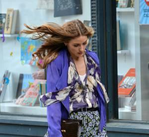 Olivia Palermo, parfait mix d'imprimes... A shopper !